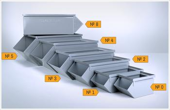 Steel Stackbins & Hopper Boxes Image