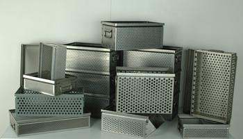 Perforated Baskets & Custom Containers Image
