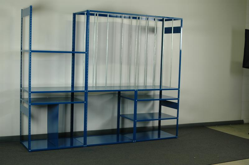 Merveilleux Corrugated Storage Rack