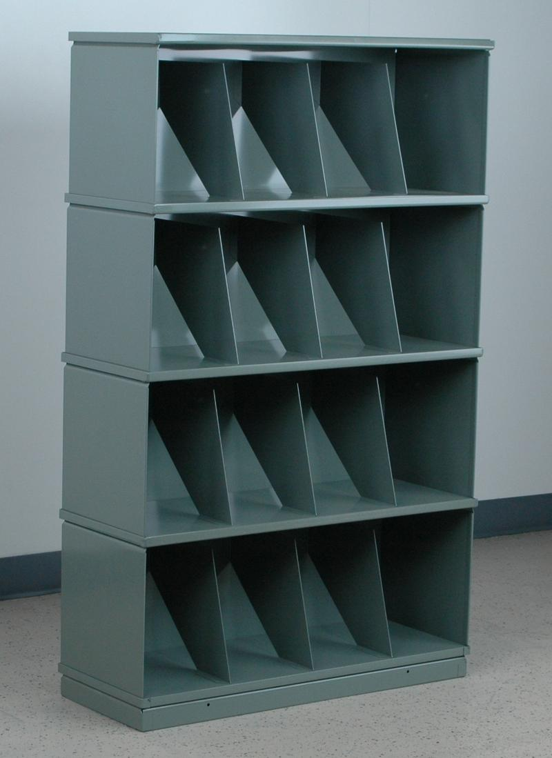Stackbin Shelving Amp Carts 4 Shelf Medical Record