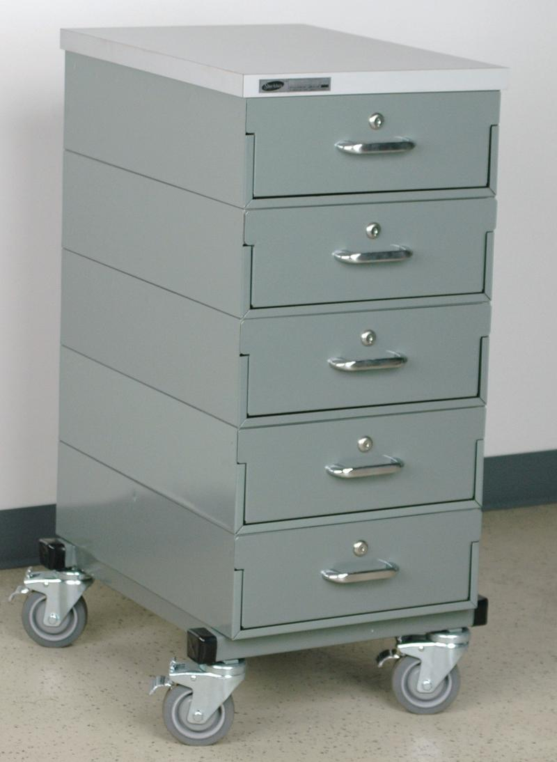 Stackbin Drawers 1 Wide Mobile Drawer Unit