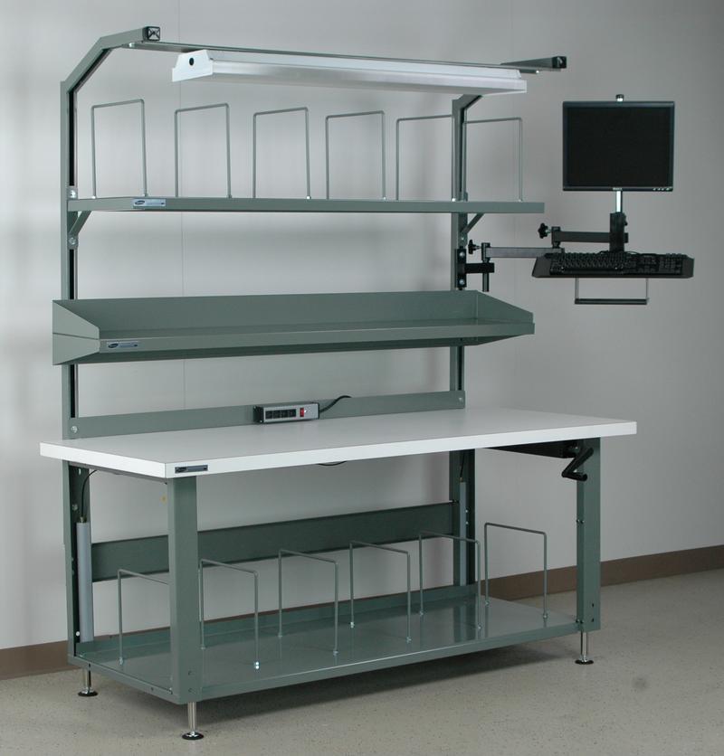 Stackbin Workbenches Packing Workbench № 3