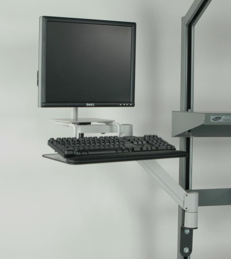 Stackbin Workbenches Height Adjustable Monitor Arm