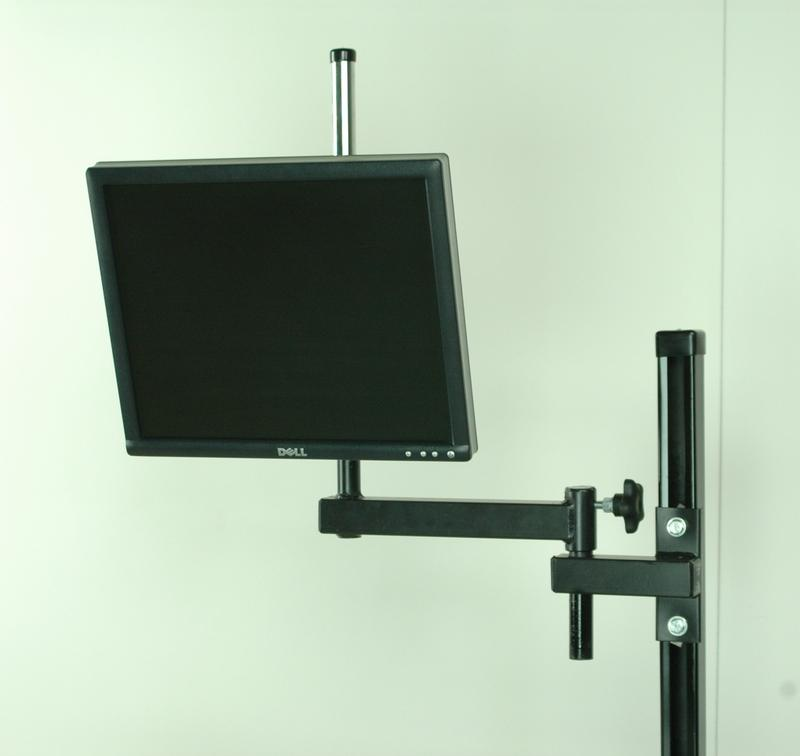 Stackbin Workbenches Articulating Monitor Arm