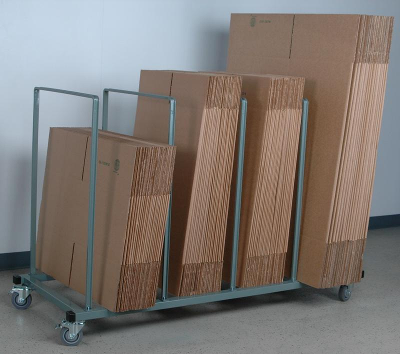 stackbin shelving carts mobile large carton stand ForStand Carton