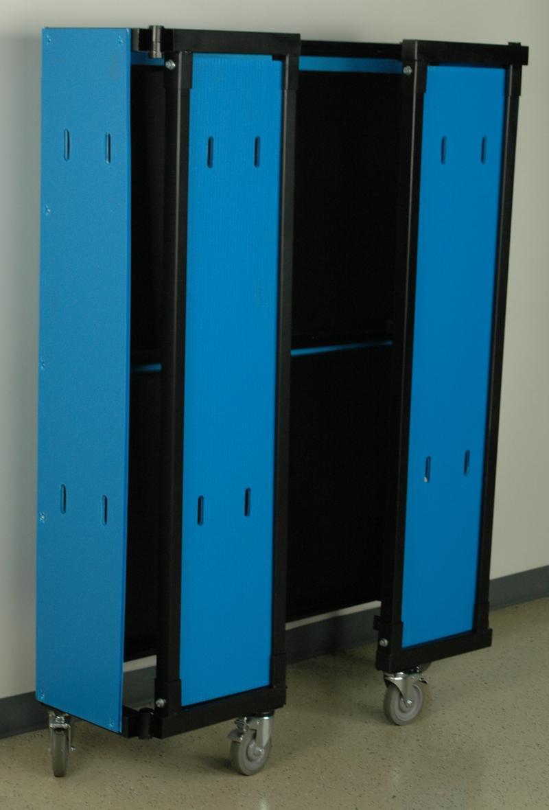 Stackbin Custom Projects Heavy Duty Folding Cart