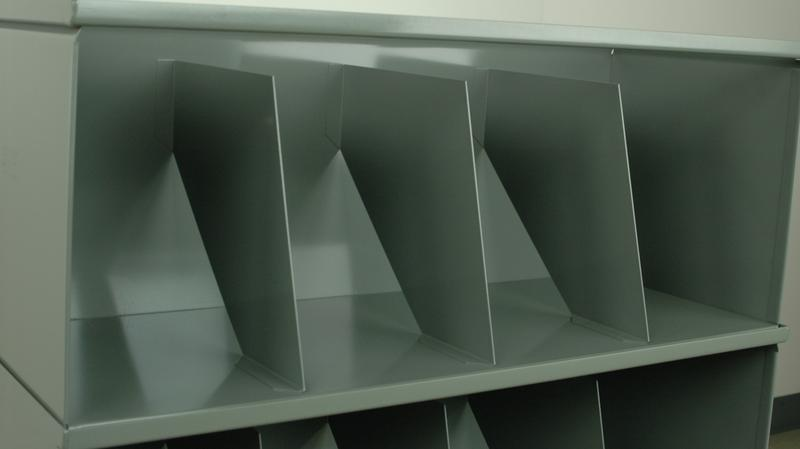 Stackbin Medical 5 Shelf Medical Record Storage Unit
