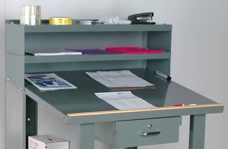Stackbin Workbenches Wall Mount Shop Desk