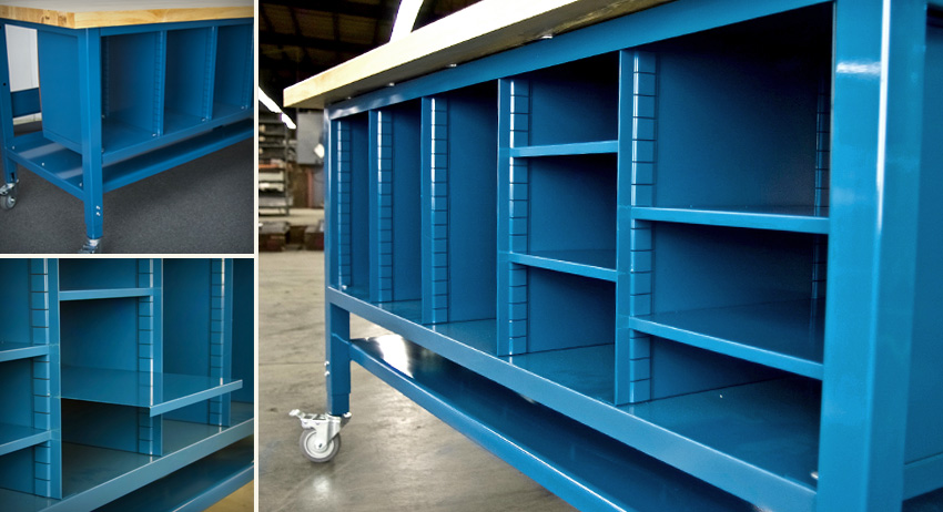 "Adjustable ""Sorter"" Unit Shelving"