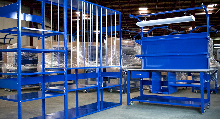 Custom Fulfillment Workstations & Racks